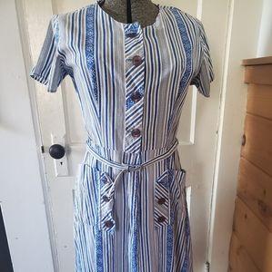Vintage Travel Day Dress